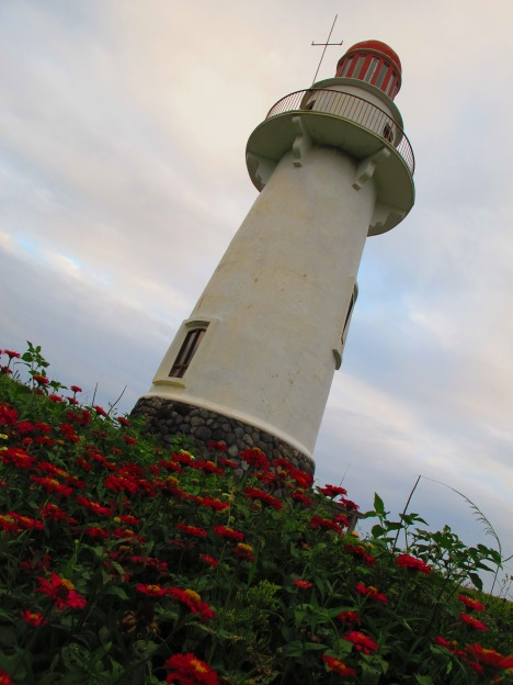 margarita-fringed lighthouse