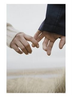 hands letting go