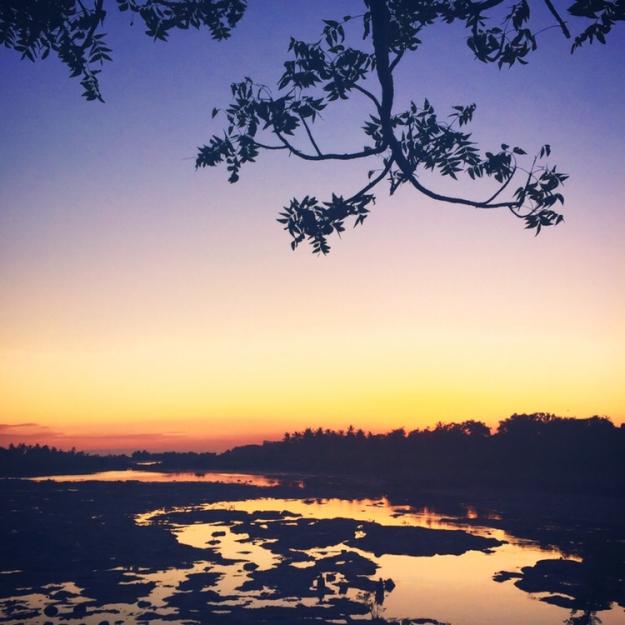 Sunset 02.06.2015