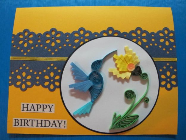 quilled hummingbird