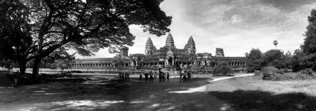 Angkor Wat b&w 01