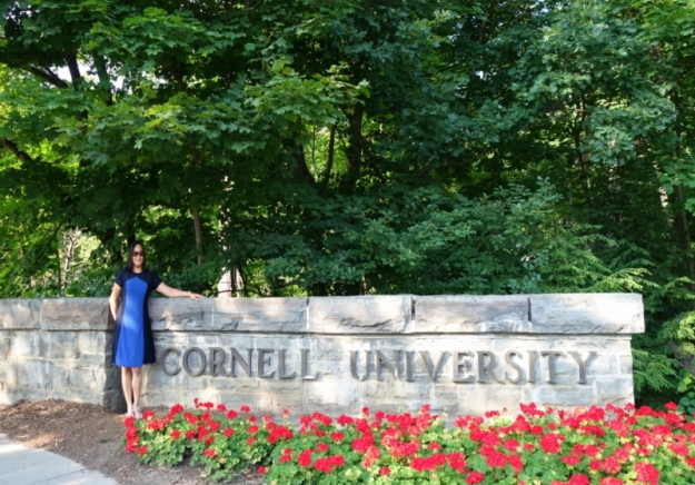 me in Cornell