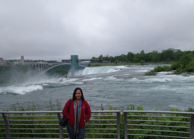 me in Niagara Falls
