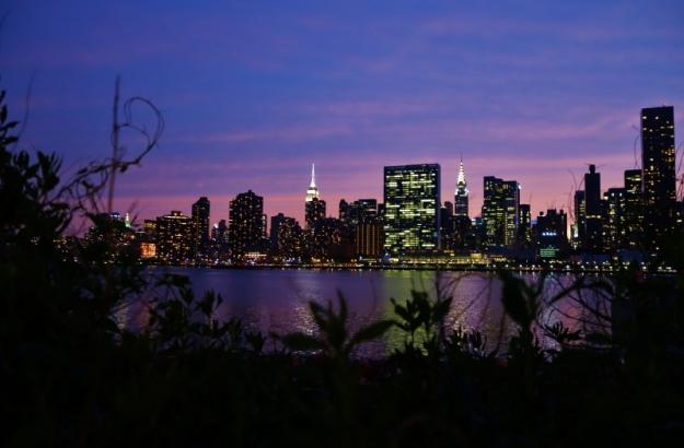 NY nightscape