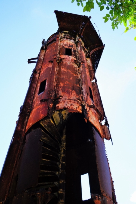 the original Guisi Lighthouse